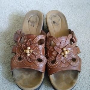Clark Leather Sandals